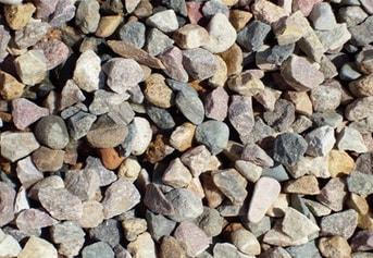 Отличие галька, гравий и щебень купить овражный песок Ижевскская область